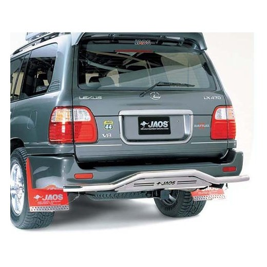 Защита заднего бампера Jaos Toyota LC100/ Lexus LX470 (98+)