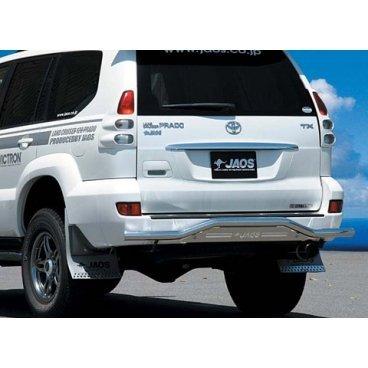 Защита заднего бампера Jaos Toyota LC120 Prado (02+)