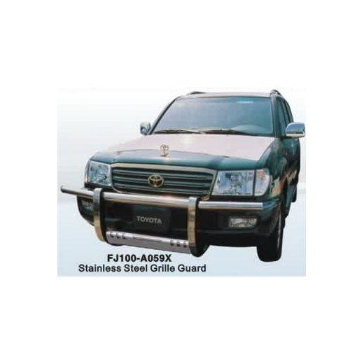 Передняя защита PowerFull (FJ100-A059X) для Toyota LC