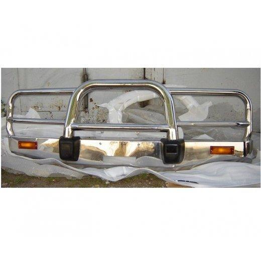 Передняя защита PowerFull (FJ80-A043) для Toyota LC