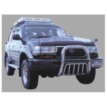 Передняя защита PowerFull (FJ80-A06101) для Toyota LC