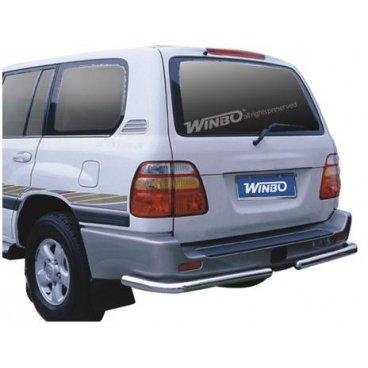Защита заднего бампера Winbo (D090111) для Toyota LC