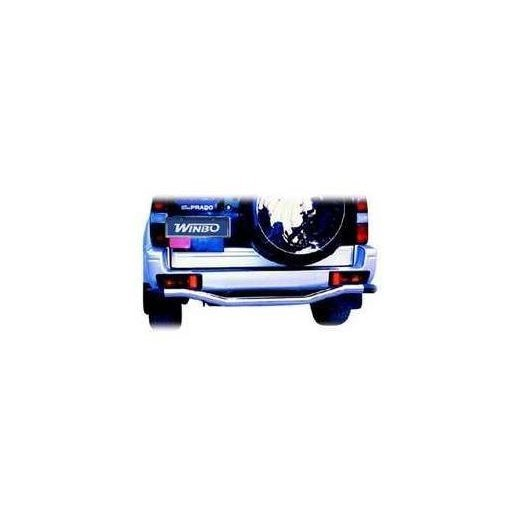 Защита заднего бампера Winbo (D091501C) для Toyota Prado