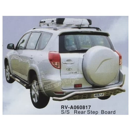 Защита заднего бампера PowerFull (RV-A060817) для Toyota RAV4