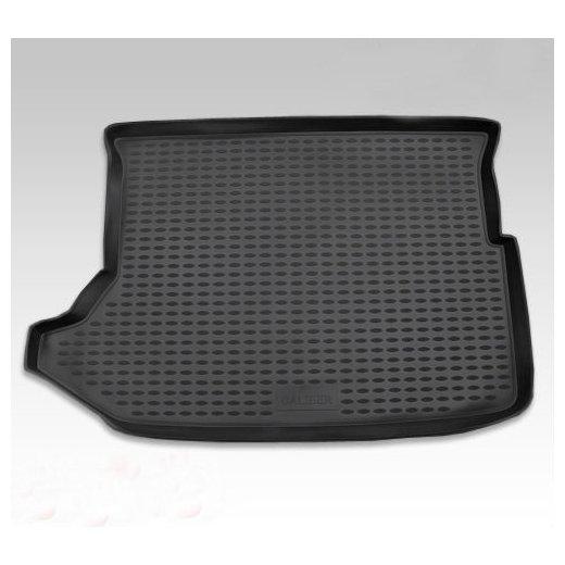 Коврик в багажник Novline DODGE Caliber 2006+, хэтчбек, полиуретан, черный (NLC.13.03.B11)