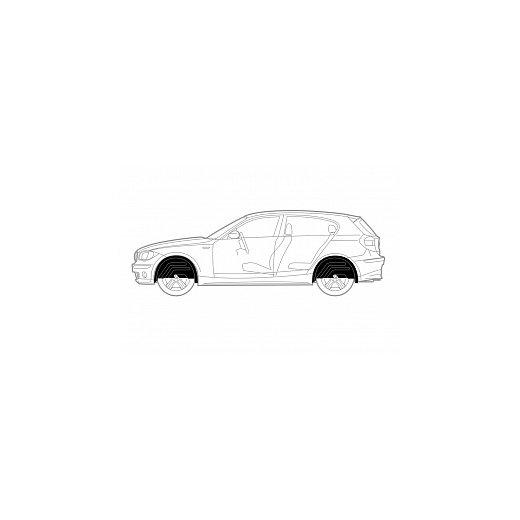Подкрылок Novline Mitsubishi Colt 3D 10/2009+, задний левый (NIK.35.21.003)