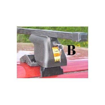 Багажник Amos для авто без водостоков: Dromader D-1 Plus