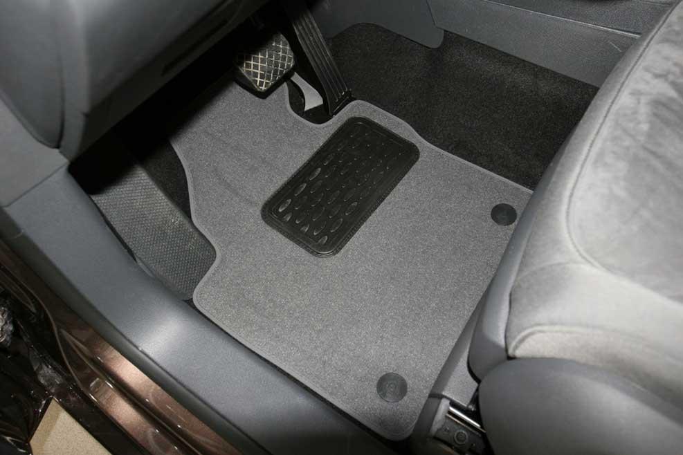 Коврики в авто текстиль