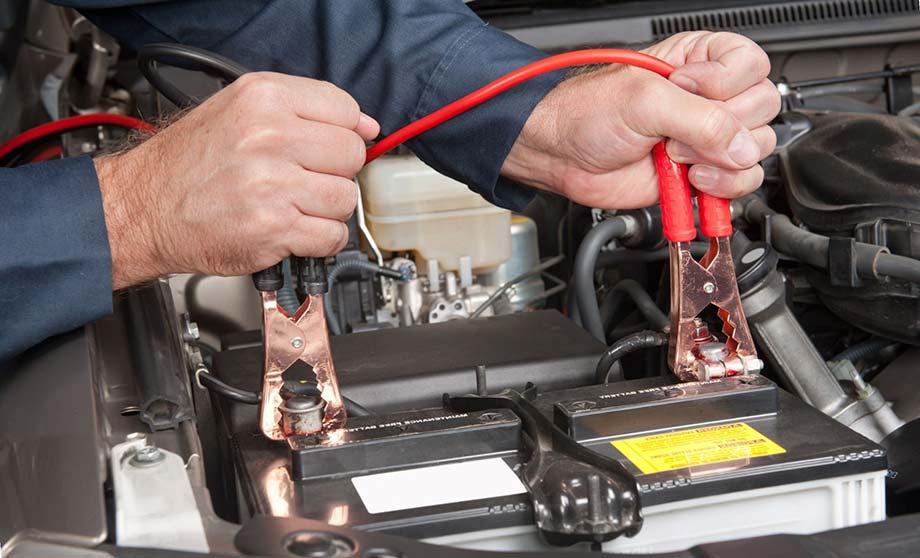 Зарядка аккумулятора на авто